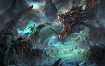 Fantasy - Dragon Wallpapers and Backgrounds ID : 525080