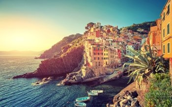 Man Made - Riomaggiore Wallpapers and Backgrounds ID : 525315