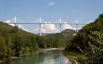 Man Made - Millau Viaduct Wallpapers and Backgrounds ID : 525354
