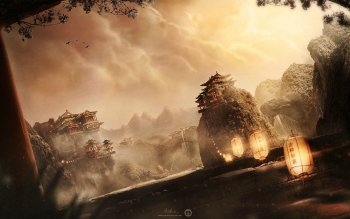 Fantasy - Landscape Wallpapers and Backgrounds ID : 525374