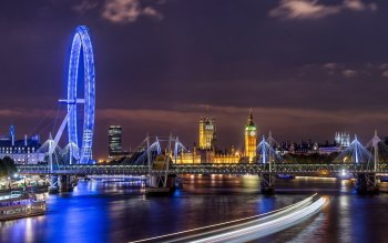 Man Made - London Eye Wallpapers and Backgrounds ID : 525511