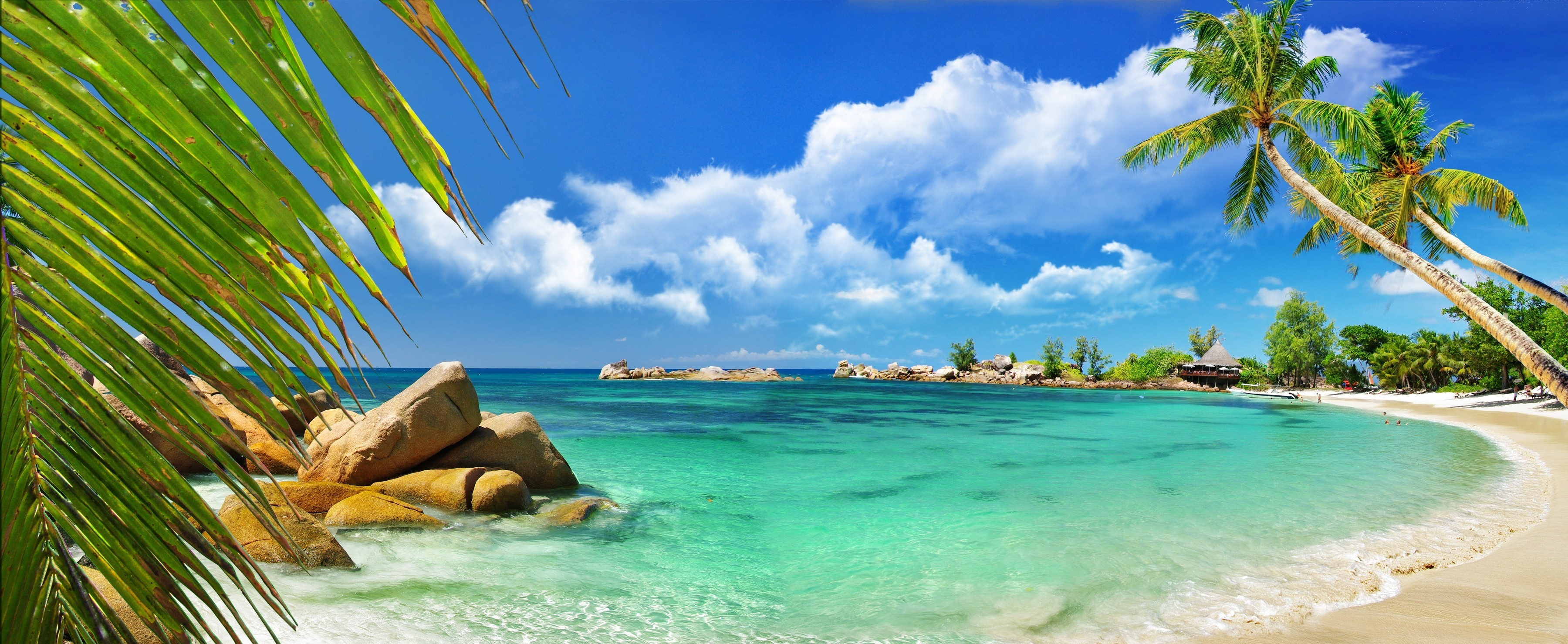Seychelles Full Hd Fond D 233 Cran And Arri 232 Re Plan 3600x1479 Id 526628