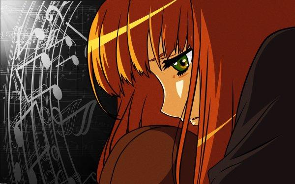 Anime Spice and Wolf Süß Mädchen Green Eyes Musik Lonely HD Wallpaper | Hintergrund