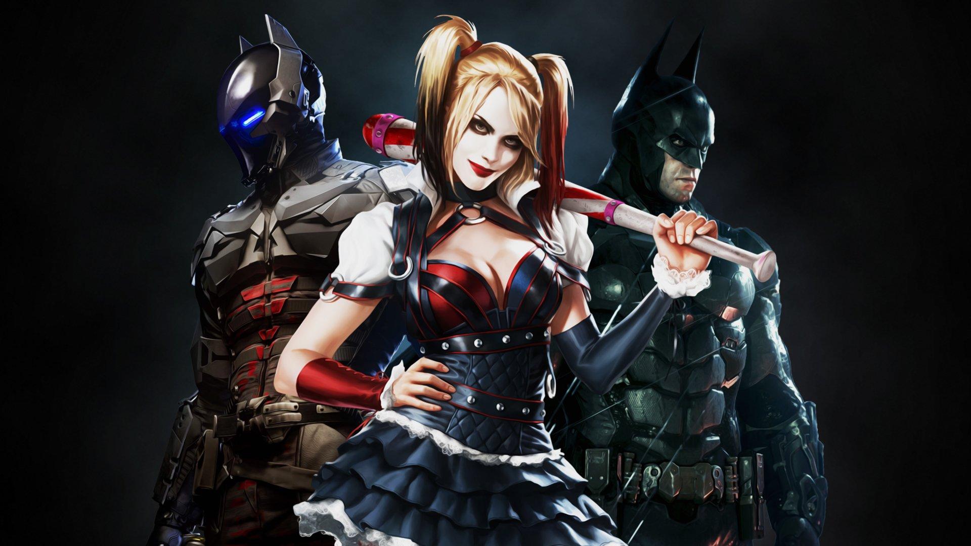 Batman Arkham City Wallpaper Arlequina: Arkham Knight, Harley Quinn, Batman Bilgisayar Duvar