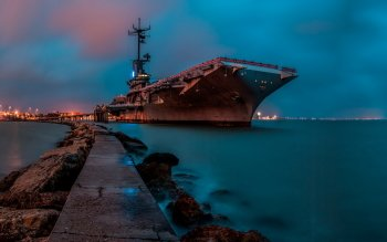 Military - USS Lexington (CV-16) Wallpapers and Backgrounds ID : 527287