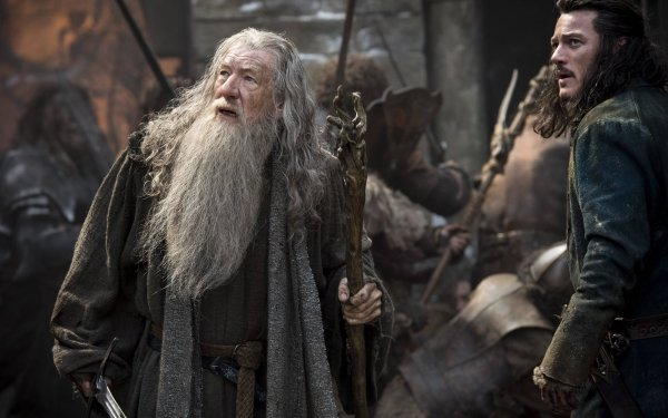 Movie The Hobbit: The Battle of the Five Armies Gandalf HD Wallpaper | Background Image