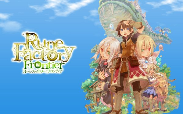 Video Game Rune Factory Frontier HD Wallpaper | Background Image