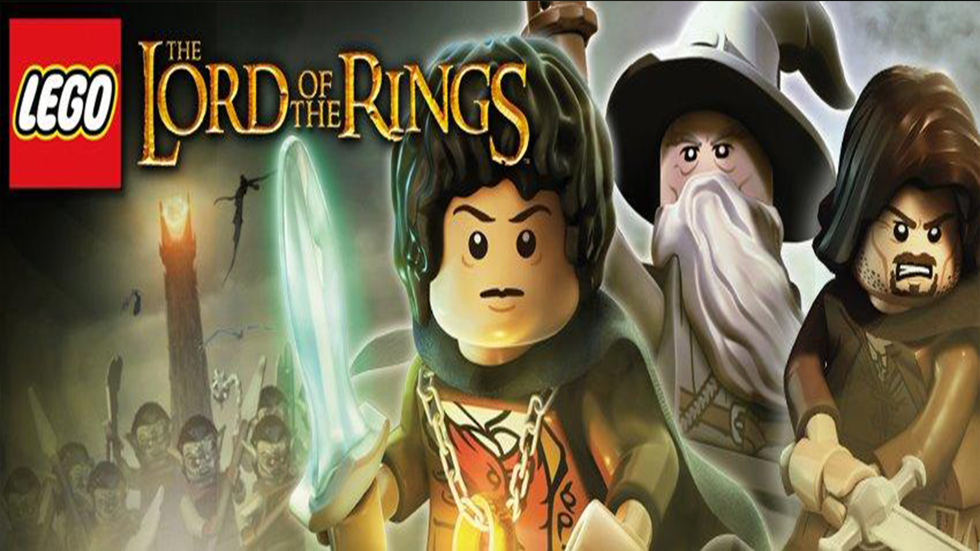 LEGO The Lord Of Rings Full HD Wallpaper And Background Image