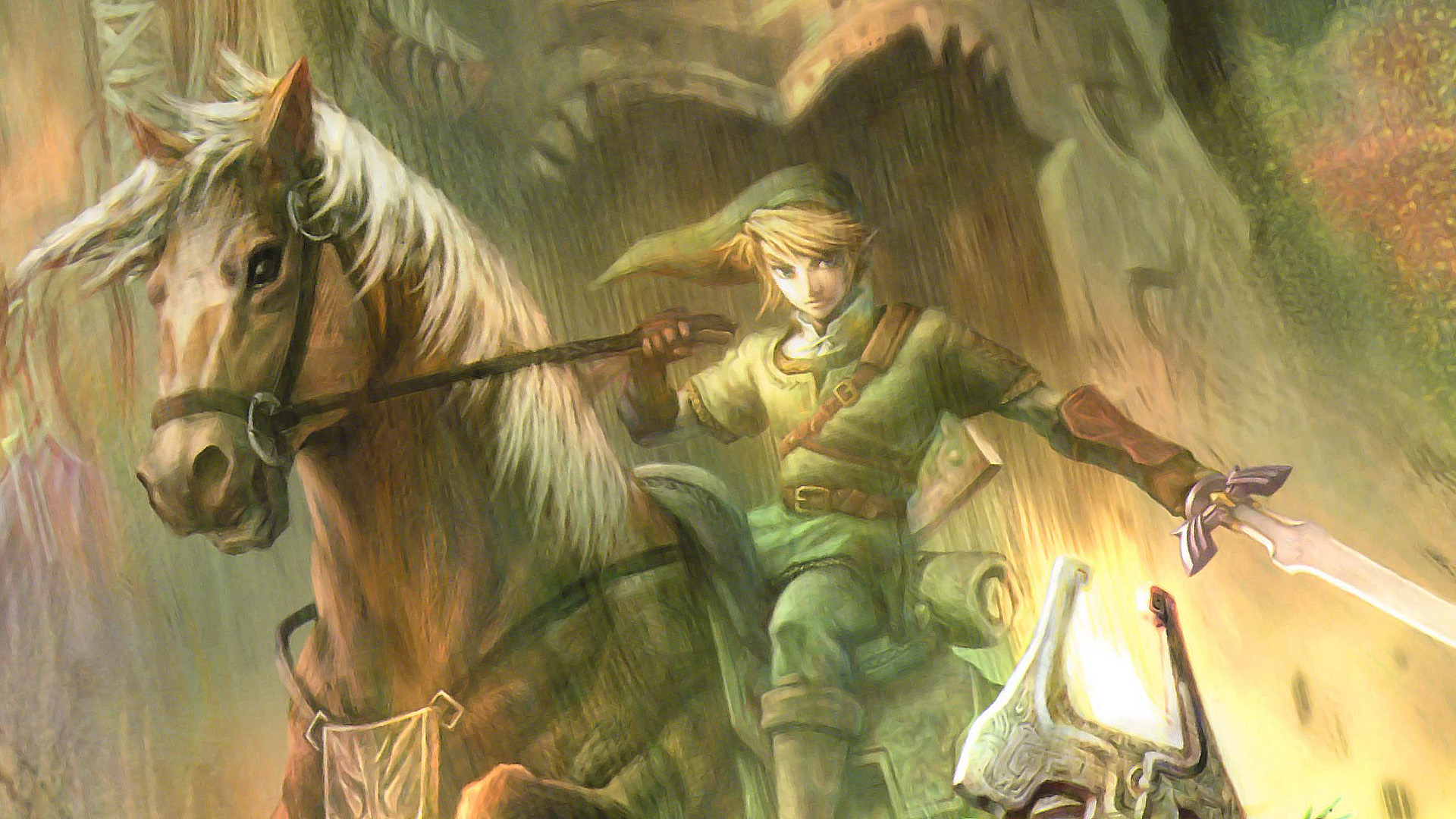 The Legend Of Zelda Twilight Princess Hd Wallpaper Background Image 1920x1080 Id 531812 Wallpaper Abyss