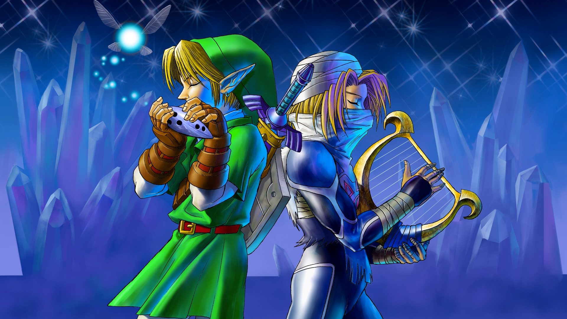 Wii U Screen Savers : The legend of zelda ocarina time hd wallpaper