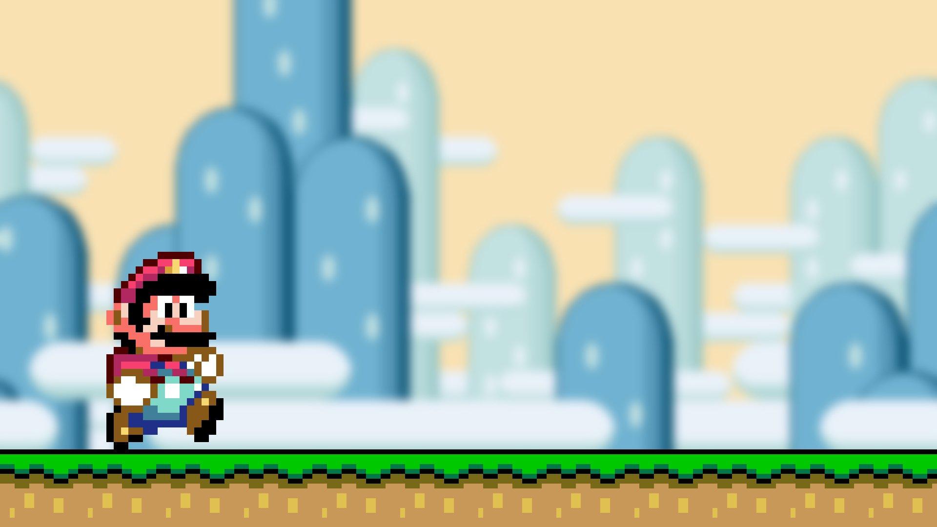 Videojuego - Super Mario World  Fondo de Pantalla