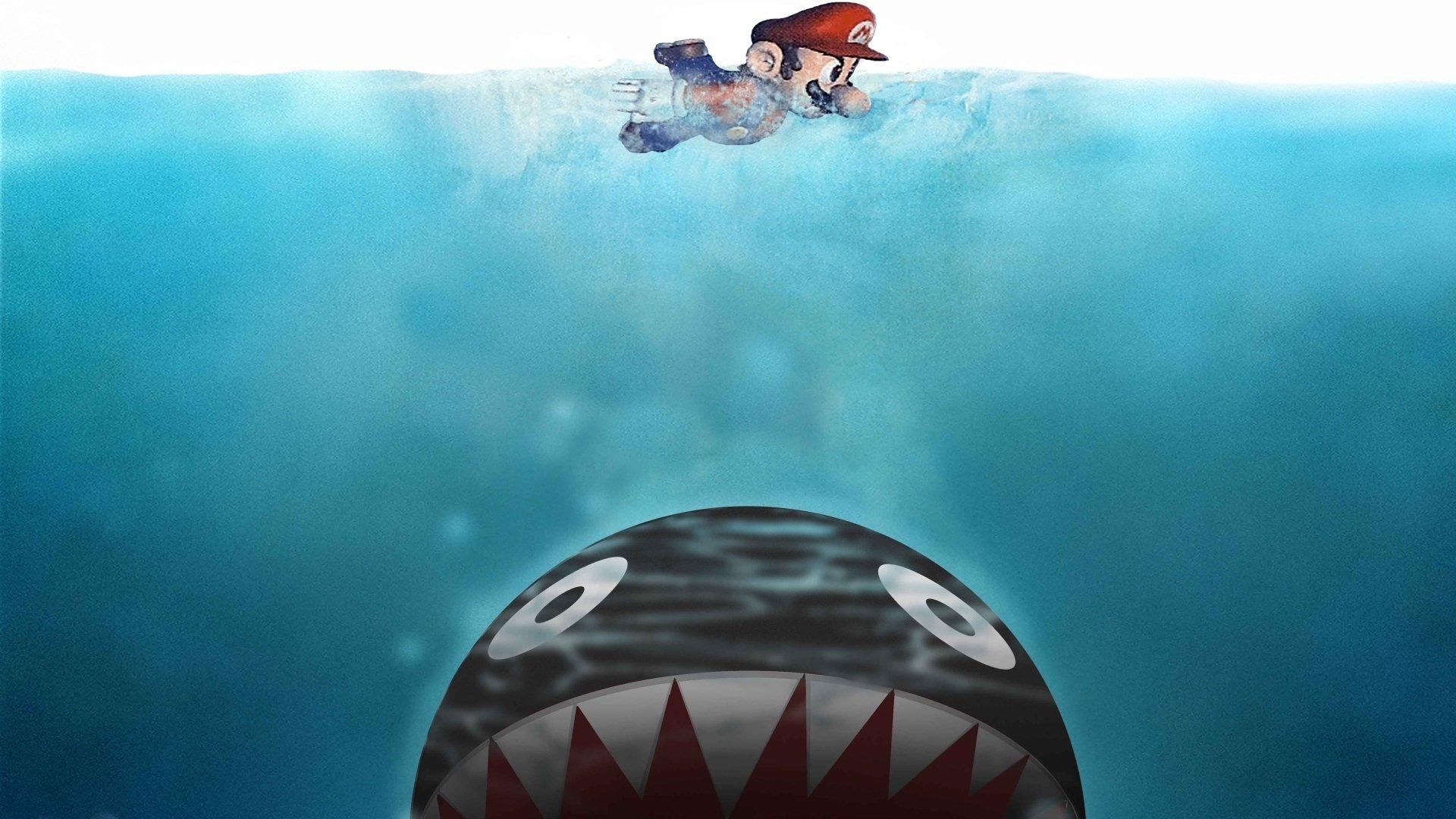 Videojuego - Super Mario World  Chain Chomp Fondo de Pantalla