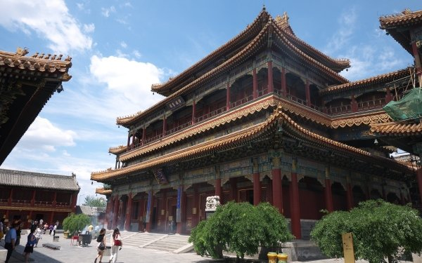 Religious Lama Temple Temples Beijing China HD Wallpaper | Background Image