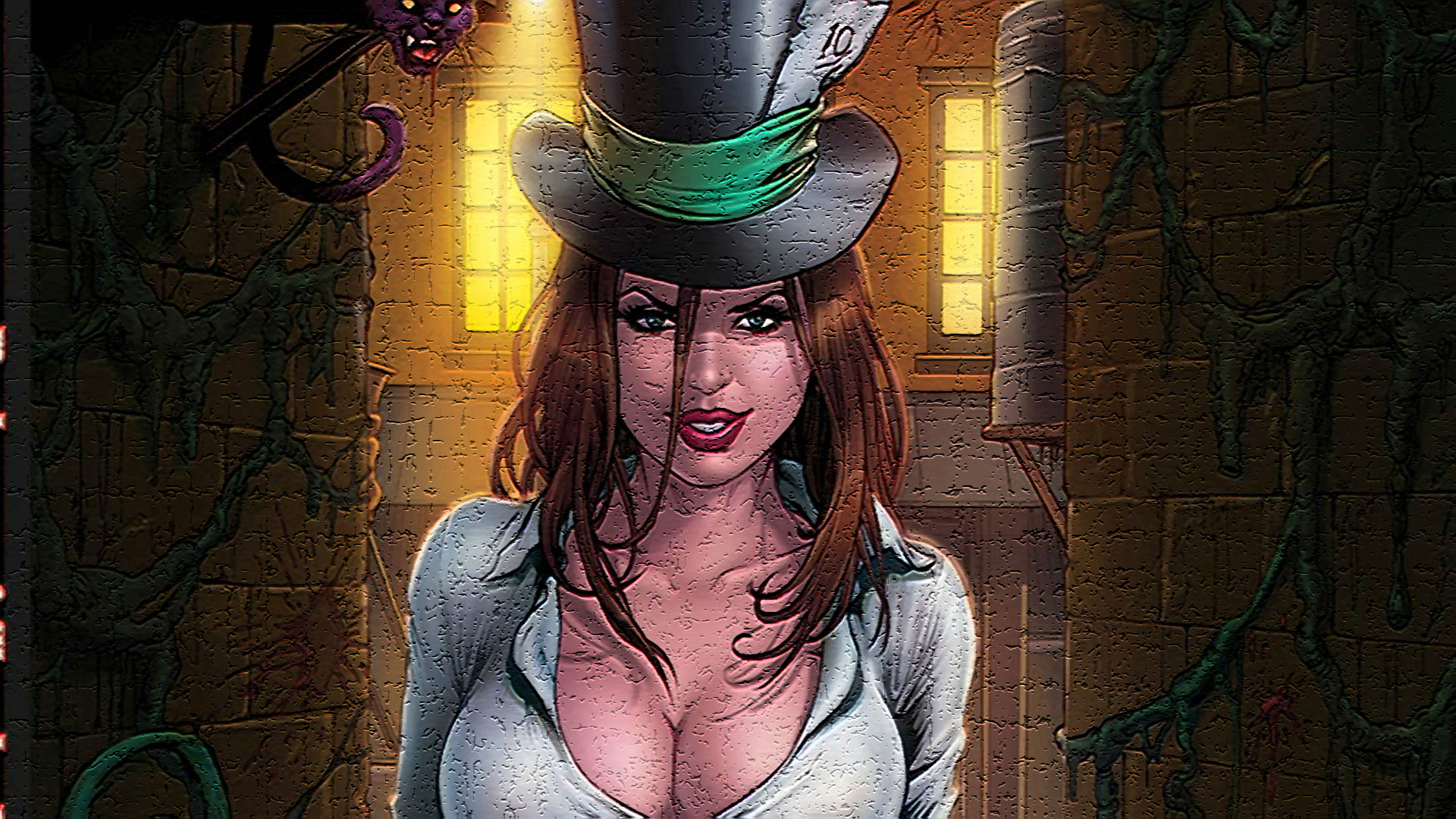 female grimm fairy tales wallpaper - photo #44
