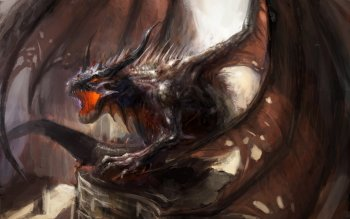 Fantasy - Dragon Wallpapers and Backgrounds ID : 533999