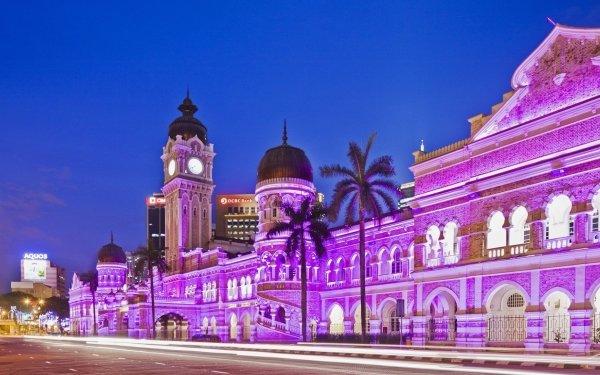 Man Made Sultan Abdul Samad Building Monuments Kuala Lumpur Malaysia HD Wallpaper   Background Image