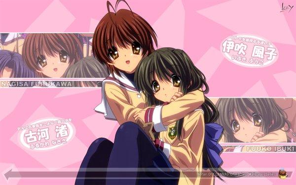 Anime Clannad Nagisa Furukawa Fuuko Ibuki HD Wallpaper | Background Image