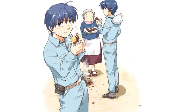 Anime Clannad Tomoya Okazaki Yusuke Yoshino HD Wallpaper   Background Image