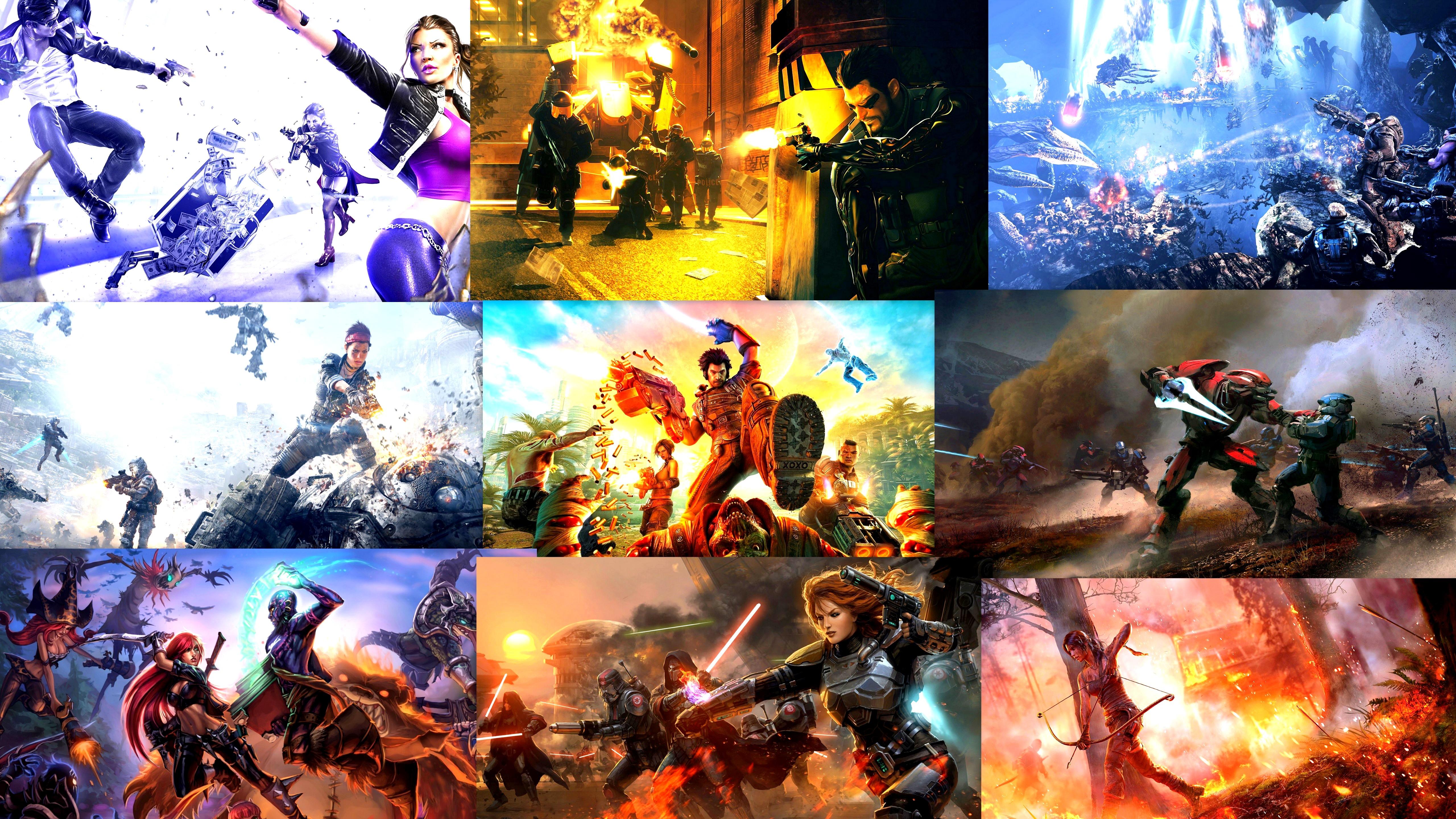 Gaming Large Battles 5k Retina Ultra HD Wallpaper And Background