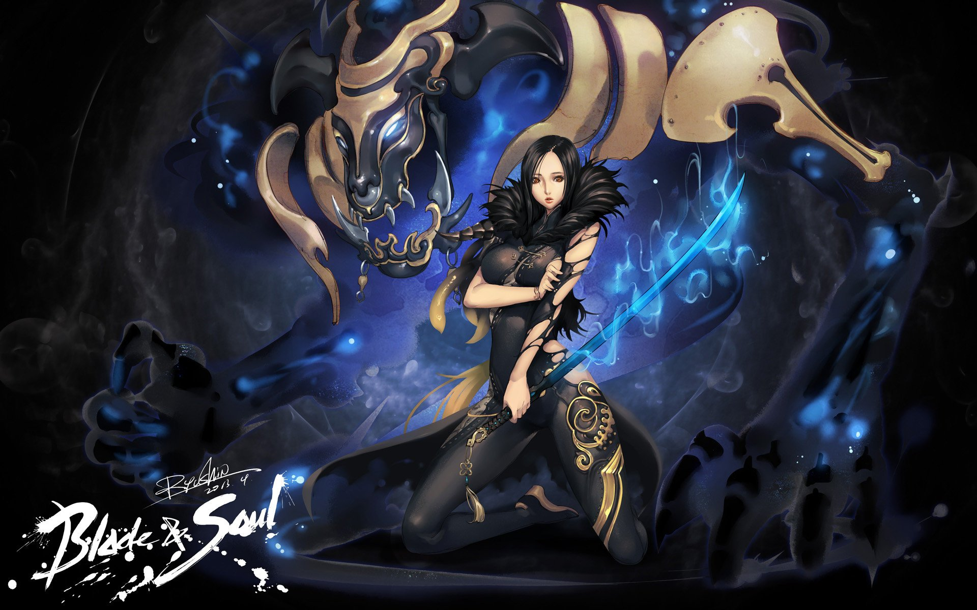 blade & soul full hd wallpaper and background | 1920x1200 | id:538892