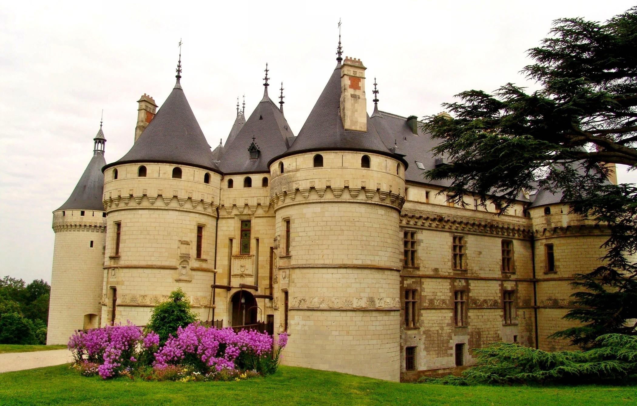 Chateau De Chaumont Sur Loire Fond D Ecran Hd Arriere Plan