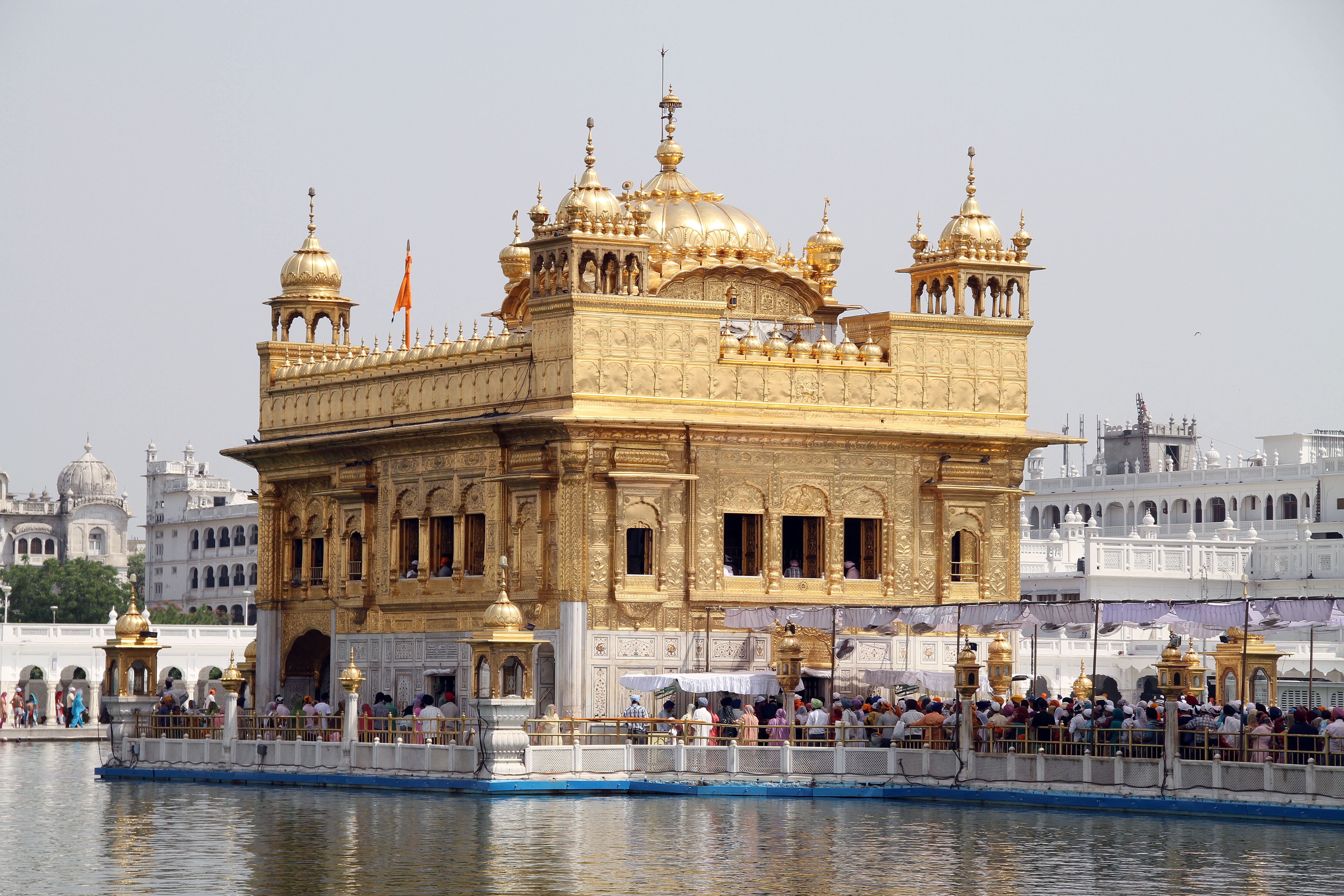hamandir sahib the golden temple,amritsar,punjab 5k retina ultra hd