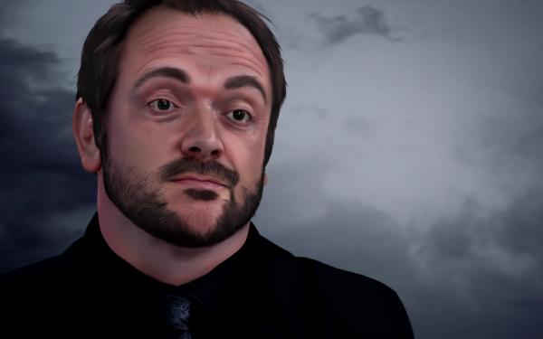 TV Show Supernatural Demon Crowley Mark Sheppard HD Wallpaper   Background Image