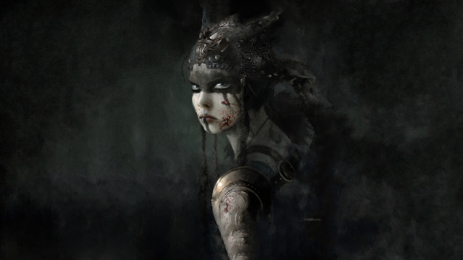 Hellblade Senuas Sacrifice Full HD Wallpaper And Background