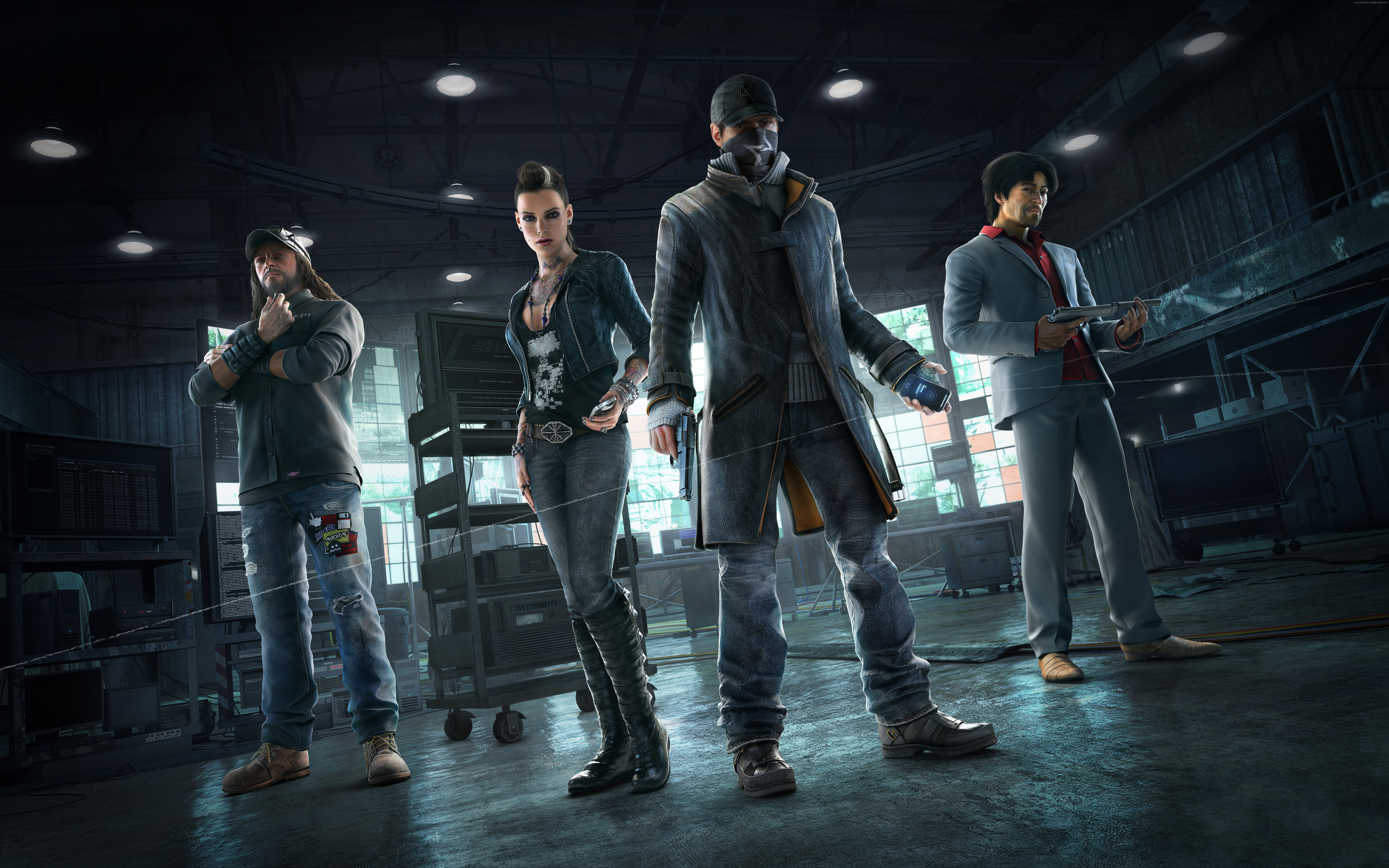 126 Watch Dogs Hd Wallpapers Background Images Wallpaper