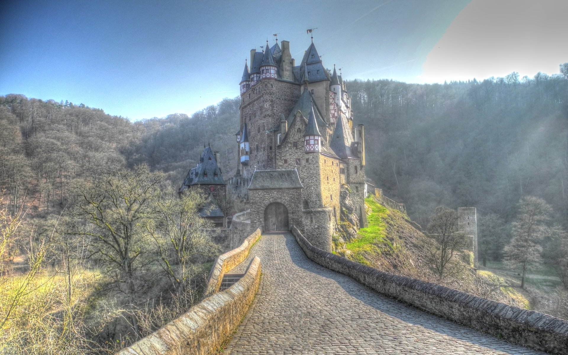 Eltz Castle Full HD Wallpaper And Background Image