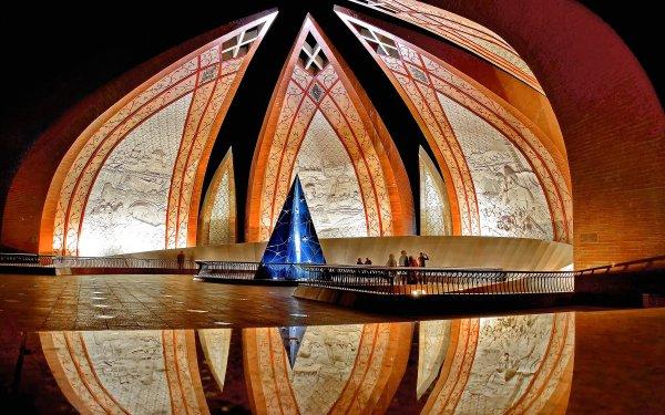 Man Made Pakistan Monument Monuments Islamabad Pakistan HD Wallpaper | Background Image