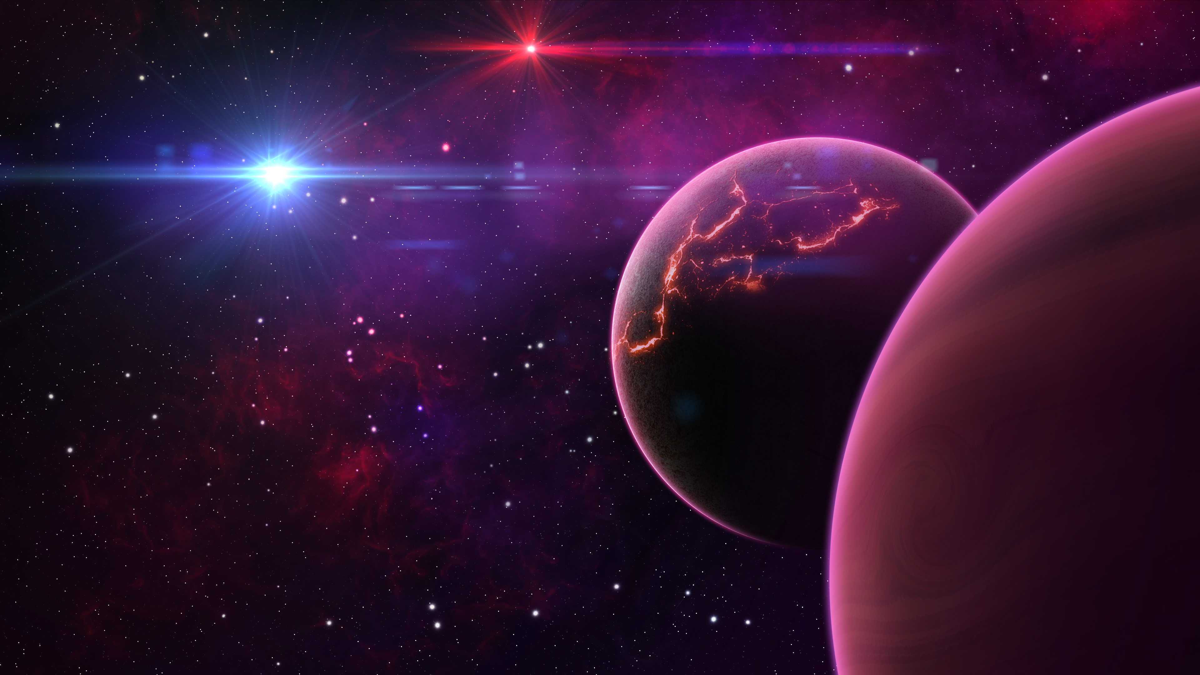 espace 4k ultra fond d u0026 39  u00e9cran hd