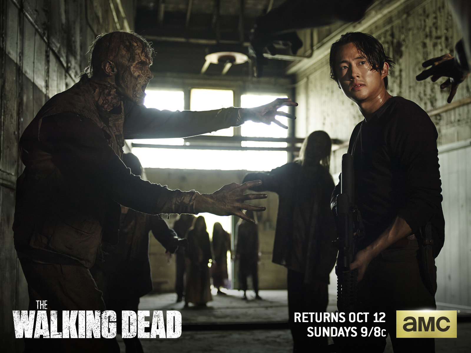 Season 5 wallpaper and background image 1600x1200 id543472 tv show the walking dead wallpaper voltagebd Choice Image