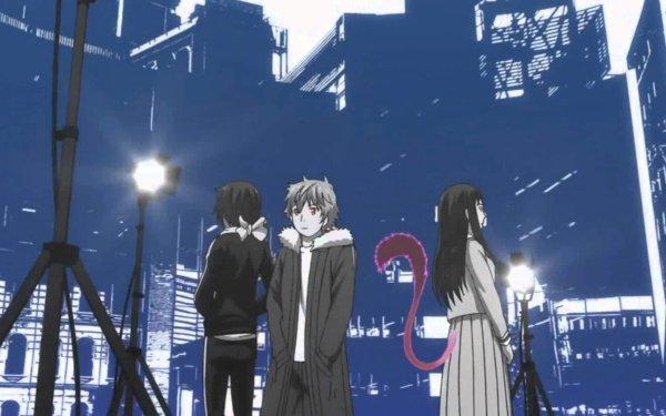 Anime Noragami Yukine Hiyori Iki Yato HD Wallpaper | Background Image