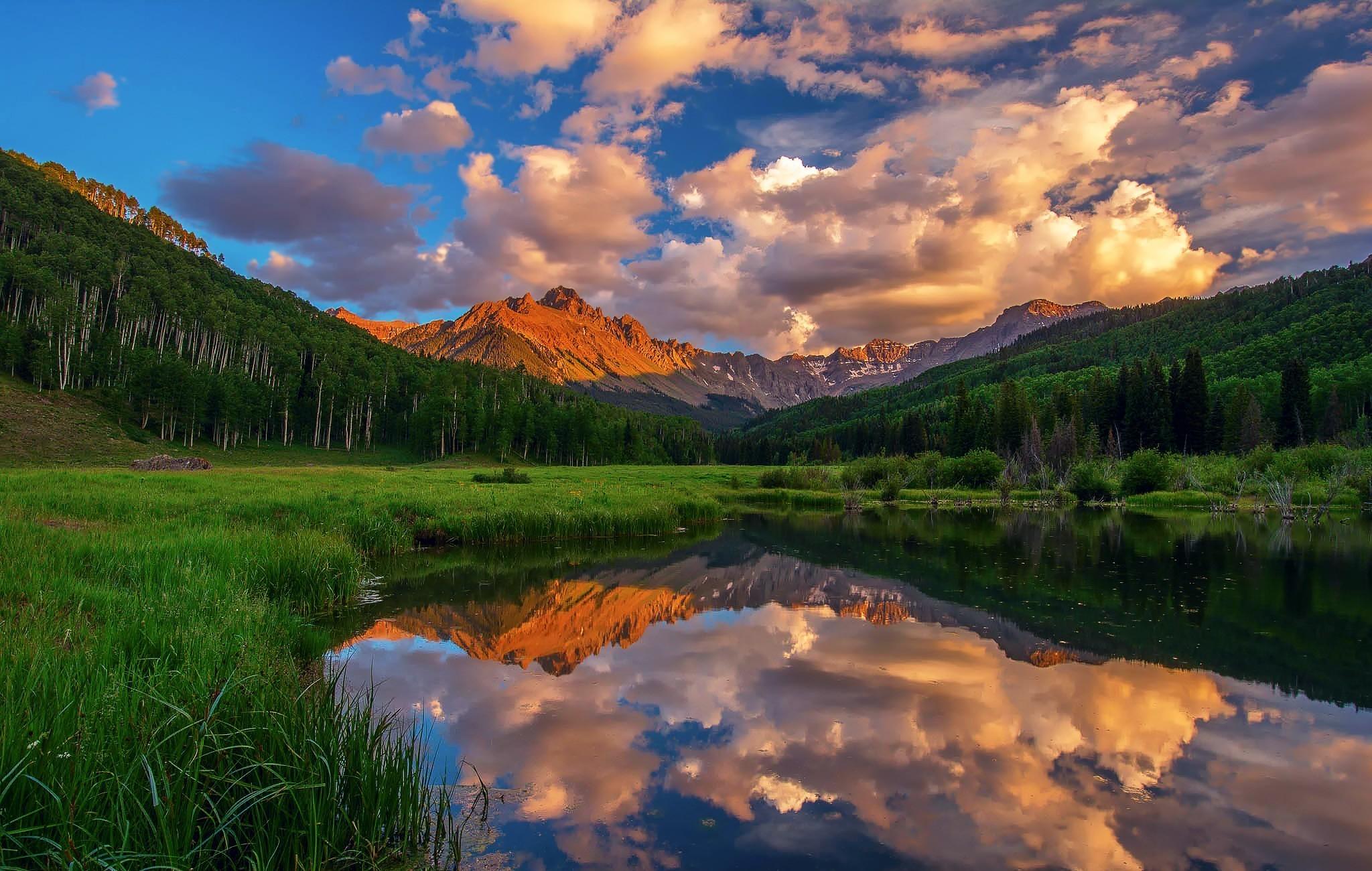 pin paysages montagne fond - photo #21