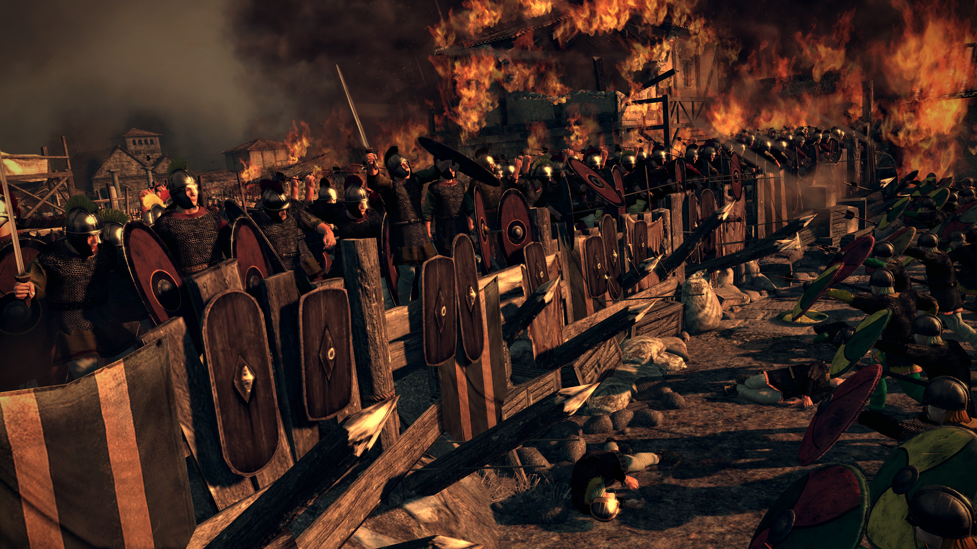 total war attila full hd fond d233cran and arri232replan