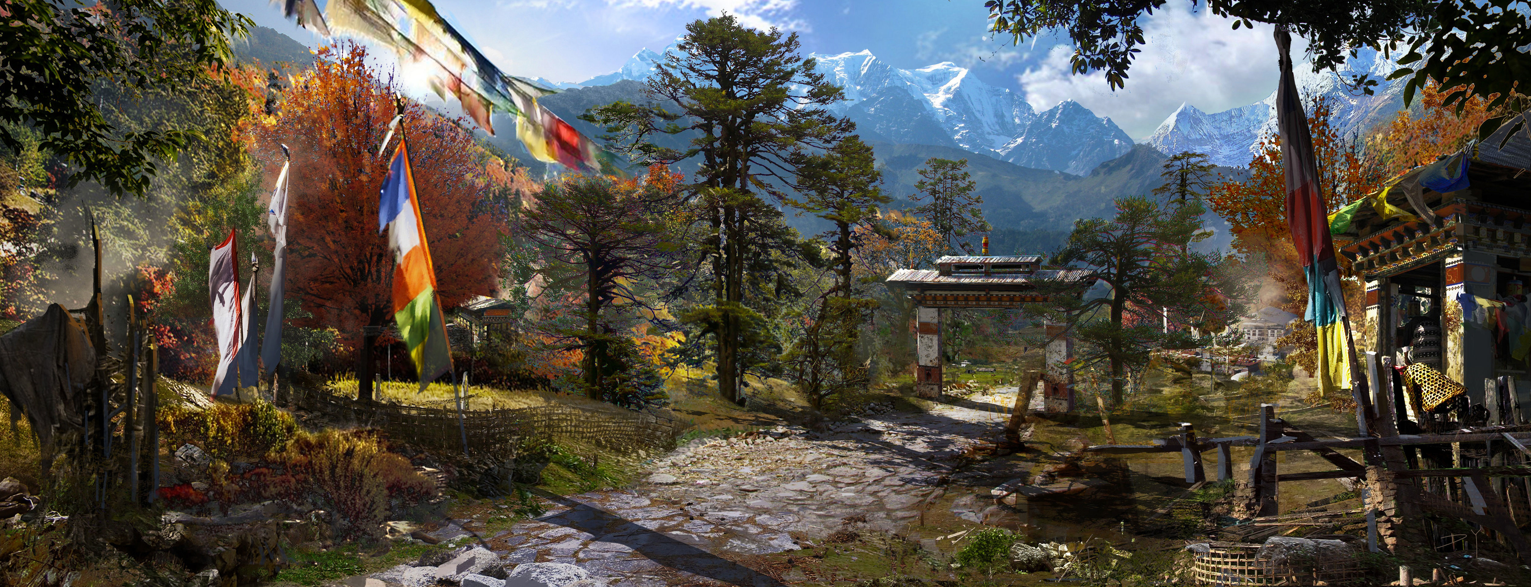 how to play far cry 4 on 2 monitors