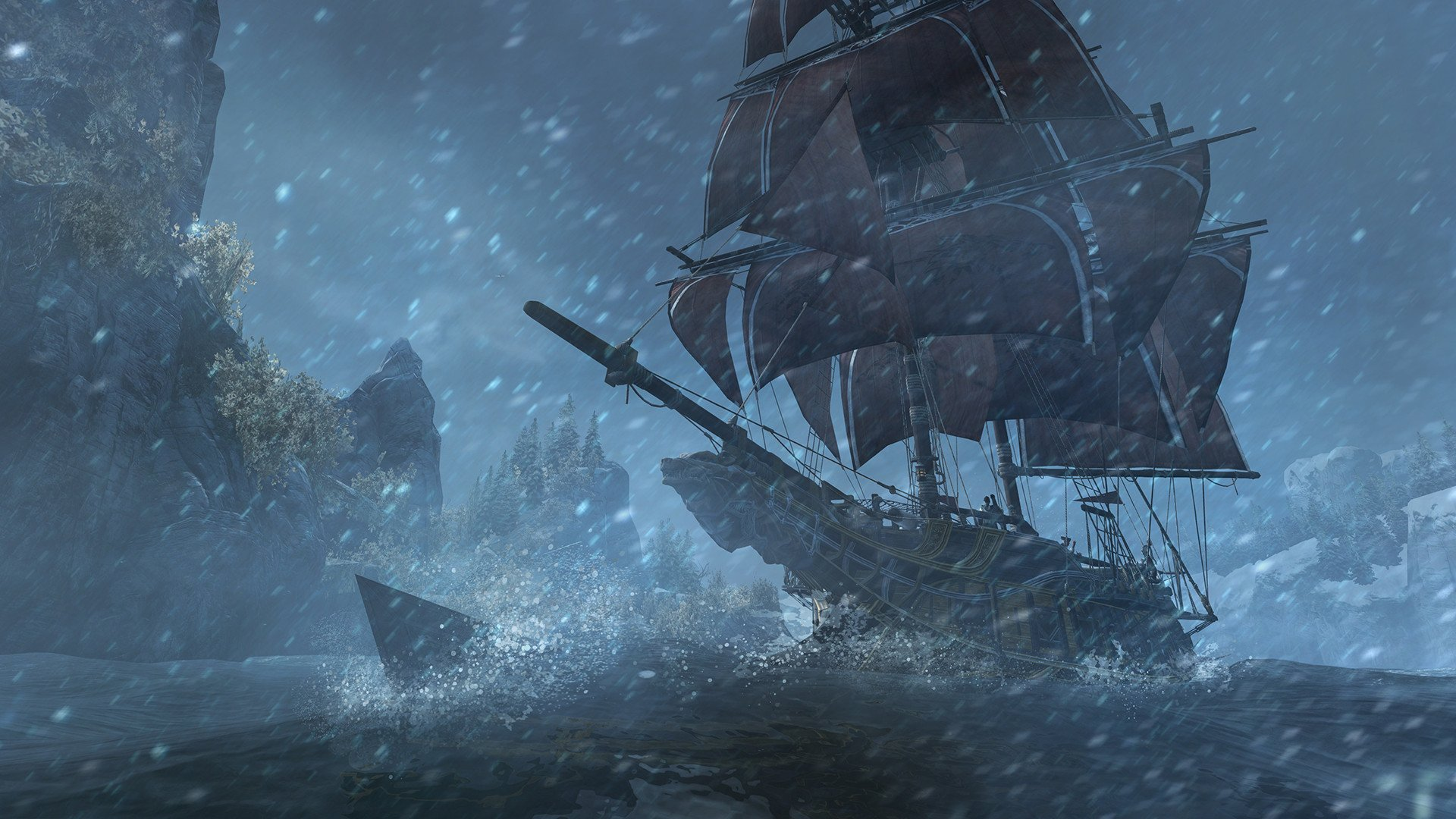 Best Boat Covers >> Assassin's Creed: Rogue HD Wallpaper | Background Image | 1920x1080 | ID:549682 - Wallpaper Abyss