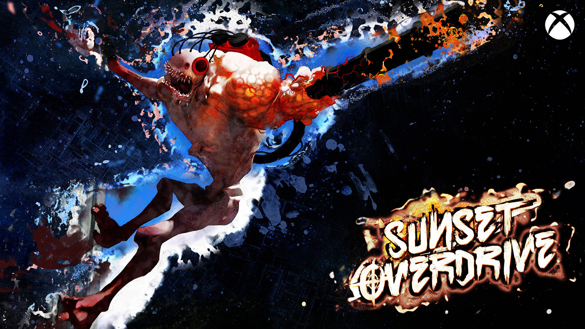 sunset overdrive iphone wallpaper