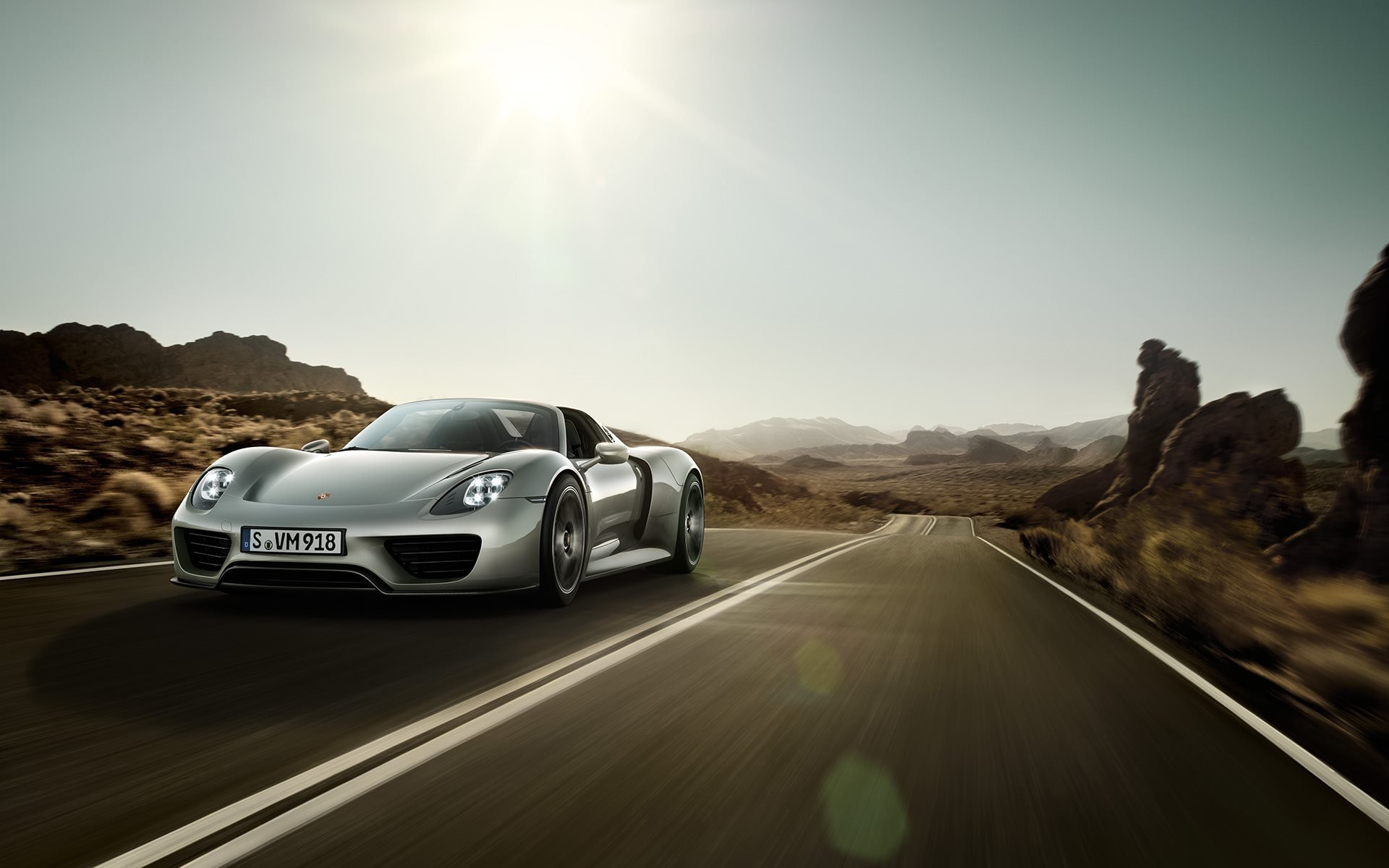porsche 918 spyder sport car hd wallpaper background id549953 - Porsche 918 Spyder Wallpaper