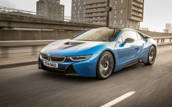 BMW I8 Blue · HD Wallpaper | Background Image ID:549773