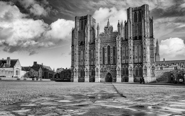 Religious Wells Cathedral Cathedrals HD Wallpaper | Background Image