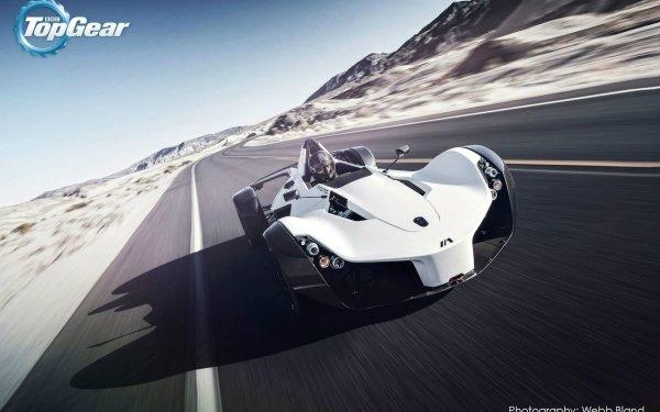 TV Show Top Gear BAC Mono Sport Car Race Car Car Road HD Wallpaper | Background Image