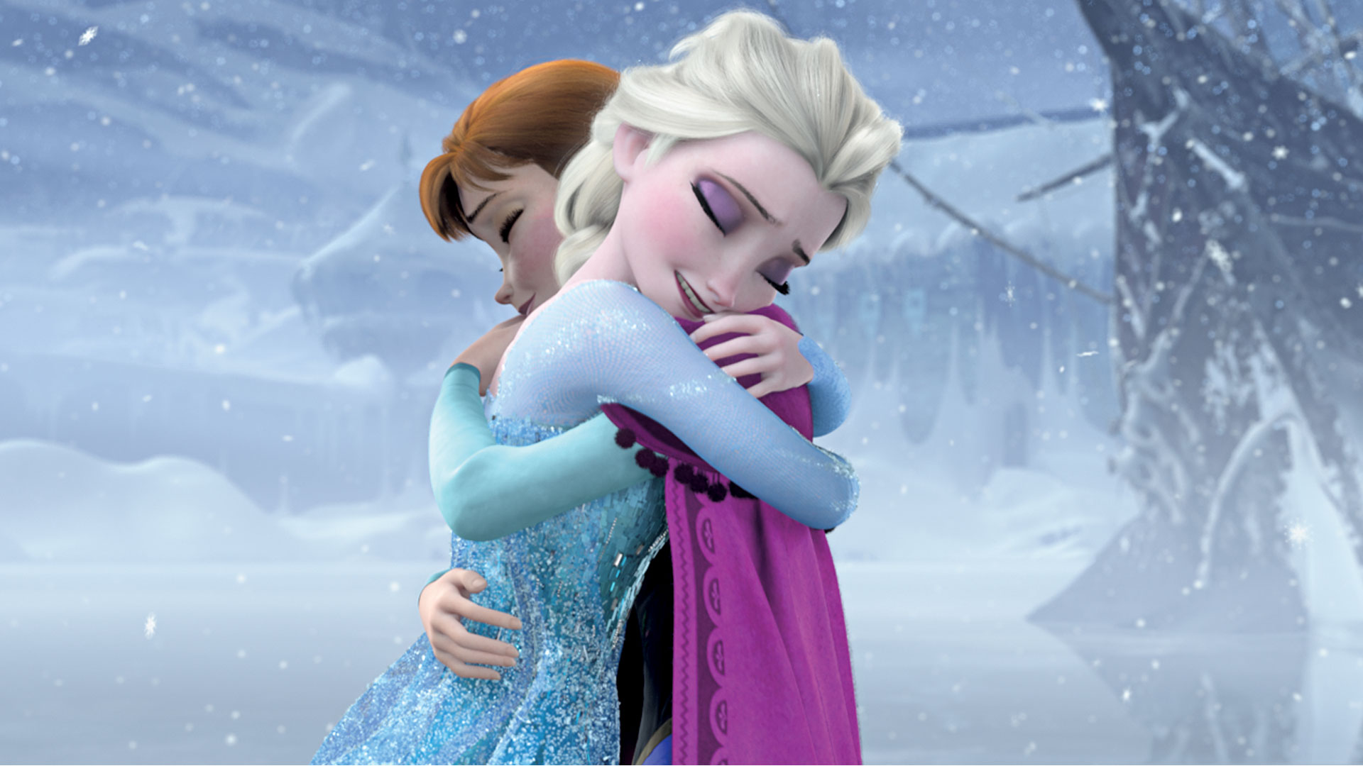 Elsa And Anna Hd Wallpaper Hintergrund 1920x1080 Id552644