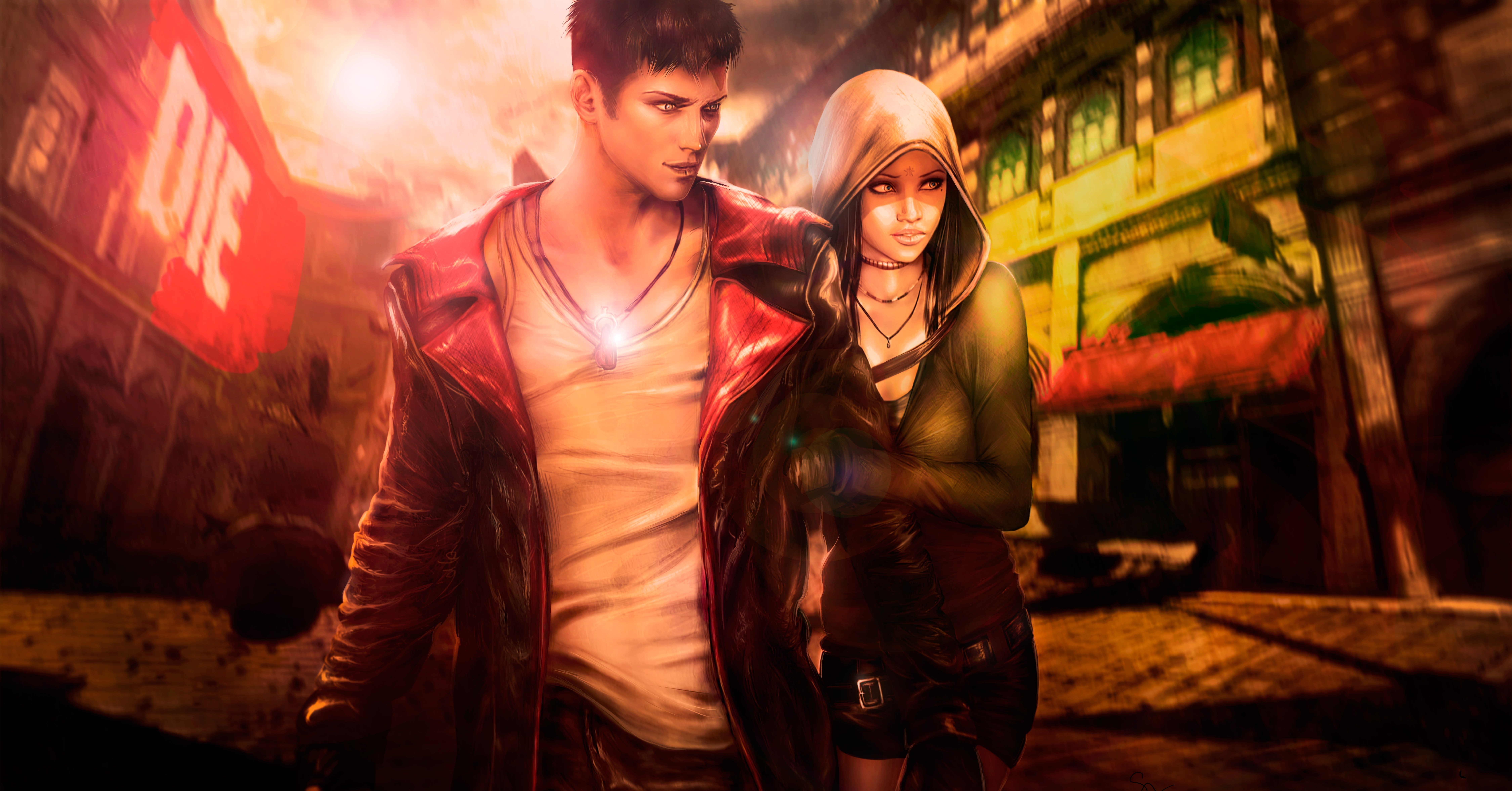 Dmc Devil May Cry 8k Ultra Hd Wallpaper Background Image