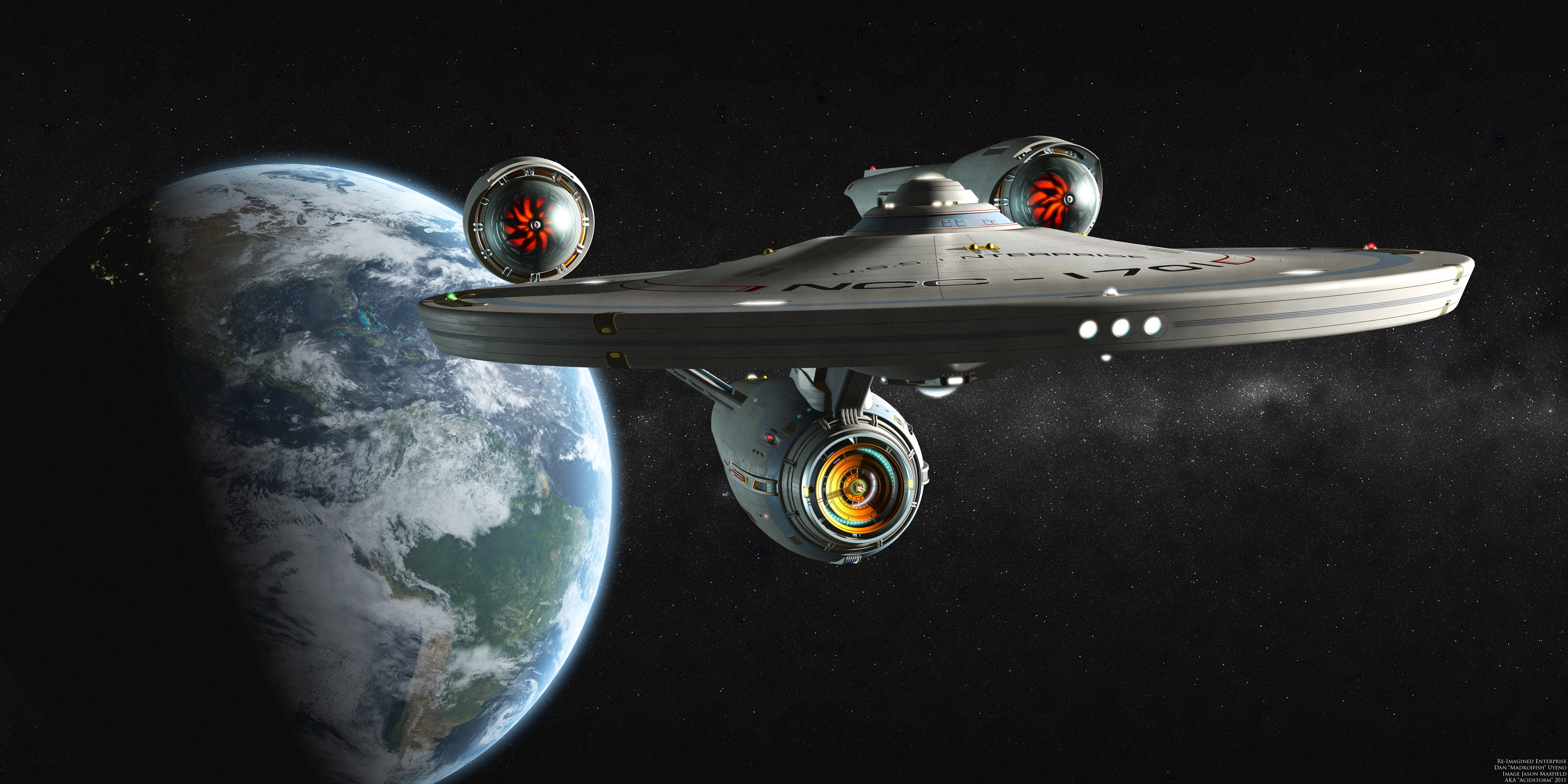 Enterprise Star Trek · HD Wallpaper | Background Image ID:554213