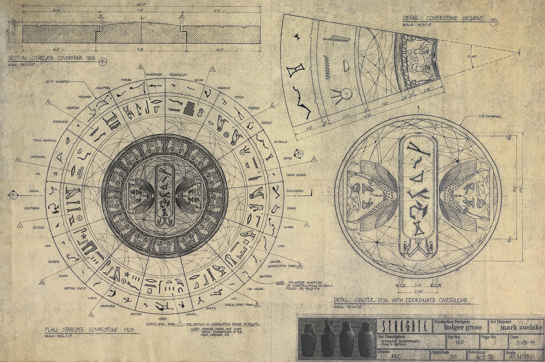 Inscriptions Dalle Stargate (Coverstone) 554629