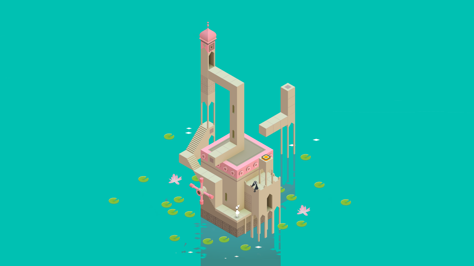 Monument Valley Full HD Wallpaper And Background