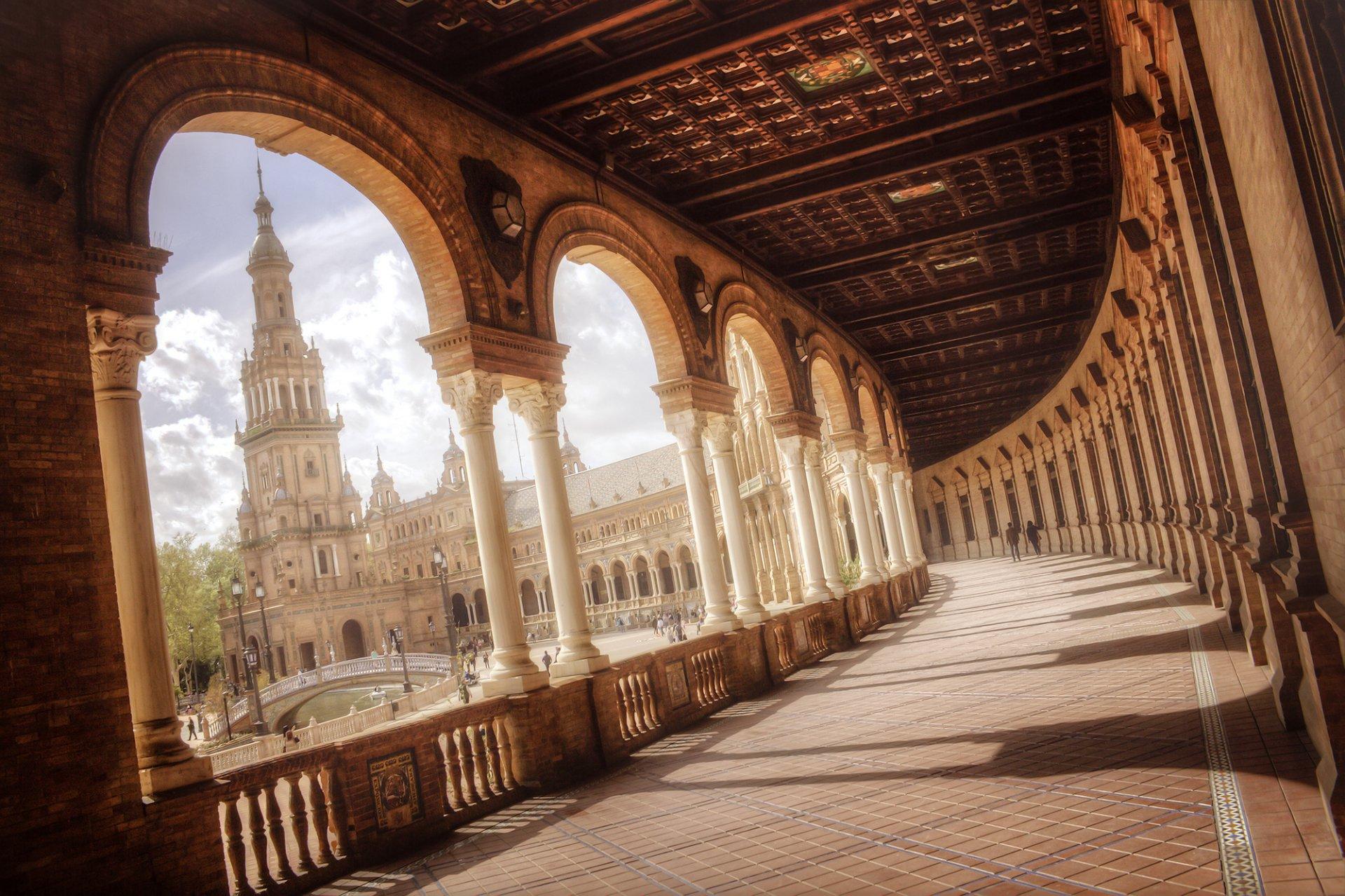 Fondo Espana Hd: Plaza De España Full HD Fondo De Pantalla And Fondo De