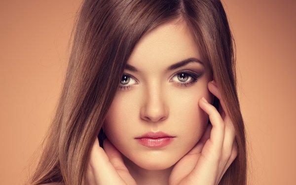 Kvinnor Face Flicka HD Wallpaper | Background Image
